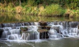Baldwin Lake Dam Waterfall fotografía de archivo libre de regalías