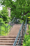 Baldwin Steps. The Baldwin Steps are a public outdoor staircase located in Toronto, Canada stock image