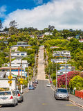 Baldwin Street, Dunedin, Otago, New Zealand Stock Photo