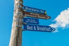 Baldwin Street Sign Stock Photos