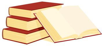 Bale of books Stock Photos