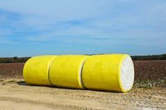Bale of Cotton Stock Photo
