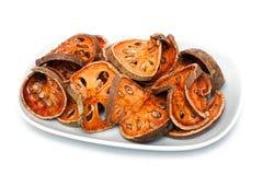 Bale Fruit dried tee Stock Image