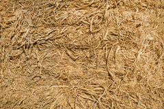 bale of hay background Royalty Free Stock Photo