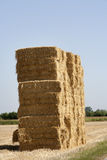 Bale of haystack. In the countryside of France royalty free stock images