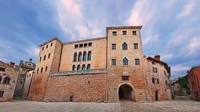Free Bale, Istria, Croatia: The Ancient Castle Soardo-Bembo In The Village Near Rovinj Stock Photography - 155677932