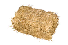 Free Bale Of Hay Isolated On White Stock Photo - 10858870