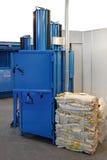 Bale pressing machine Stock Photos