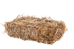Bale of straw Royalty Free Stock Photo