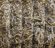 Bale of straw (background) Royalty Free Stock Photos