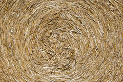 Bale of straw details Royalty Free Stock Photos