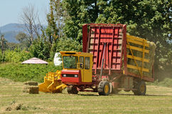 Bale Wagon Stock Images