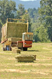 Bale Wagon Royalty Free Stock Photography