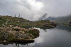 湖Balea 免版税库存照片