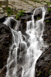 Balea cascade. Located in Transfagarasan, Romania royalty free stock photos