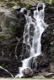 Balea cascade. Located in Transfagarasan, Romania stock photos