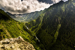 Balea Fall, Transfagarasan Stock Photos