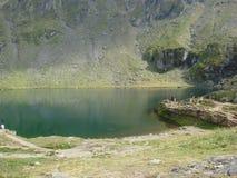 Balea Lake Royaltyfria Bilder