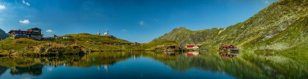 Balea Lake Arkivfoto