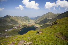 Balea Lake, Fagaras Mountains, Romania Stock Photos