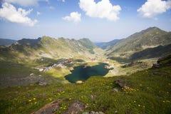 Balea Lake, Fagaras Mountains, Romania Stock Photography