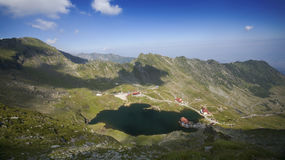 Balea Lake, Fagaras Mountains, Transylvania, Romania Royalty Free Stock Image