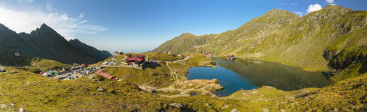 Balea Lake panorama Stock Images