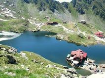 Balea Lake. Picture taken at Balea Lac Stock Images