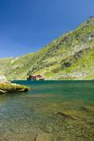 Balea Lake, Romania. Landscape from Balea Lake in Romania Stock Images