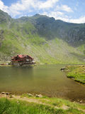 Balea Lake in Romania Stock Photo