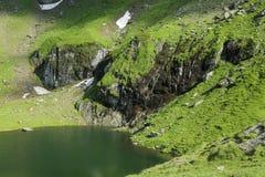 Balea Lake in Romania Royalty Free Stock Photography