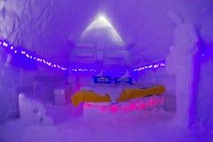 BALEA-MEER - 18 FEBRUARI 2018 - HET IJShotel Royalty-vrije Stock Afbeeldingen