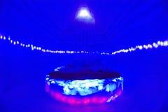 BALEA-MEER - 18 FEBRUARI 2018 - HET IJShotel Stock Afbeelding