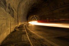 Balea-Tunnel Lizenzfreie Stockfotografie