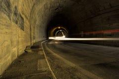 Balea-Tunnel Lizenzfreies Stockfoto