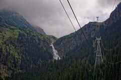 Balea Wasserfall Lizenzfreies Stockfoto