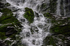 Balea waterfall 2. Trip in Fagaras Mountains, in september Stock Images