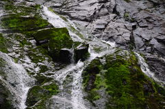 Balea waterfall 3. Trip in Fagaras Mountains, in september Royalty Free Stock Photos