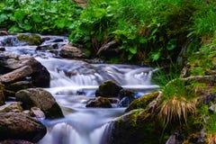 Balea waterfall stock image