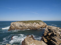 Baleal coast Royalty Free Stock Photo