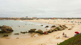 Baleal North Beach or Papoa, Peniche, Portugal Stock Images