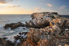Baleal, Peniche, Πορτογαλία Στοκ φωτογραφία με δικαίωμα ελεύθερης χρήσης