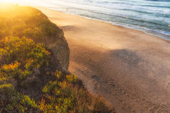 Baleal Sundown royalty free stock photo