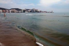 Balear-Meer Cullera, Spanien lizenzfreies stockfoto