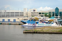 Balearia Bahamas express cruise ship in Fort Laudardale Royalty Free Stock Photography
