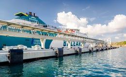 Balearia nel porto di Ibiza Fotografia Stock