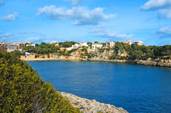 Balearic fishing village Stock Photography