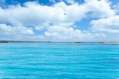 Balearic Formentera island in Espalmador Trucadors Stock Photos
