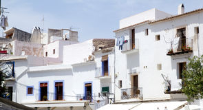 Balearic Ibiza white island Mediterranean Stock Photo