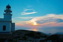 Balearic Island menorca spain Arkivfoto